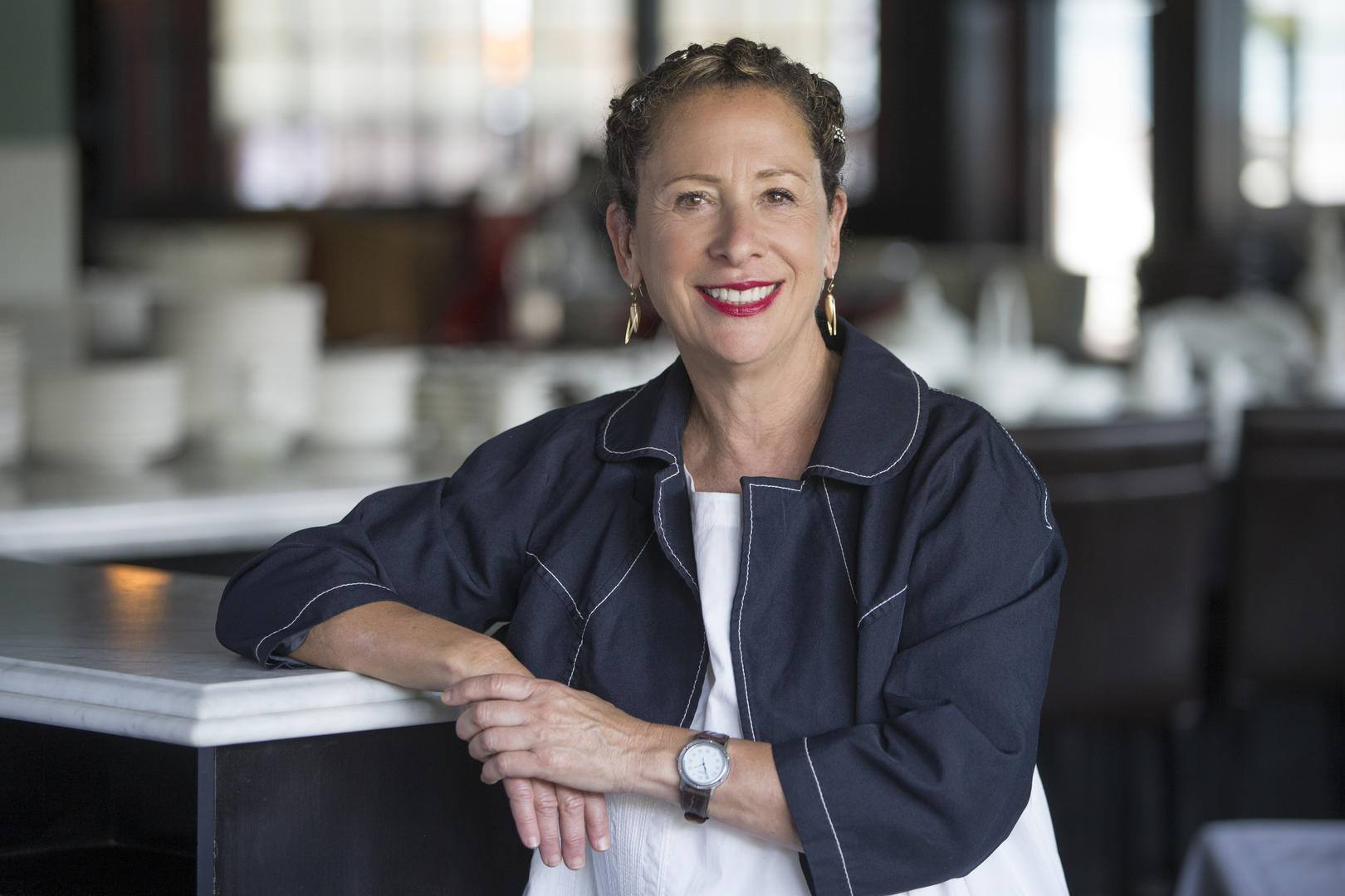Nancy Silverton at Pizzeria Mozza