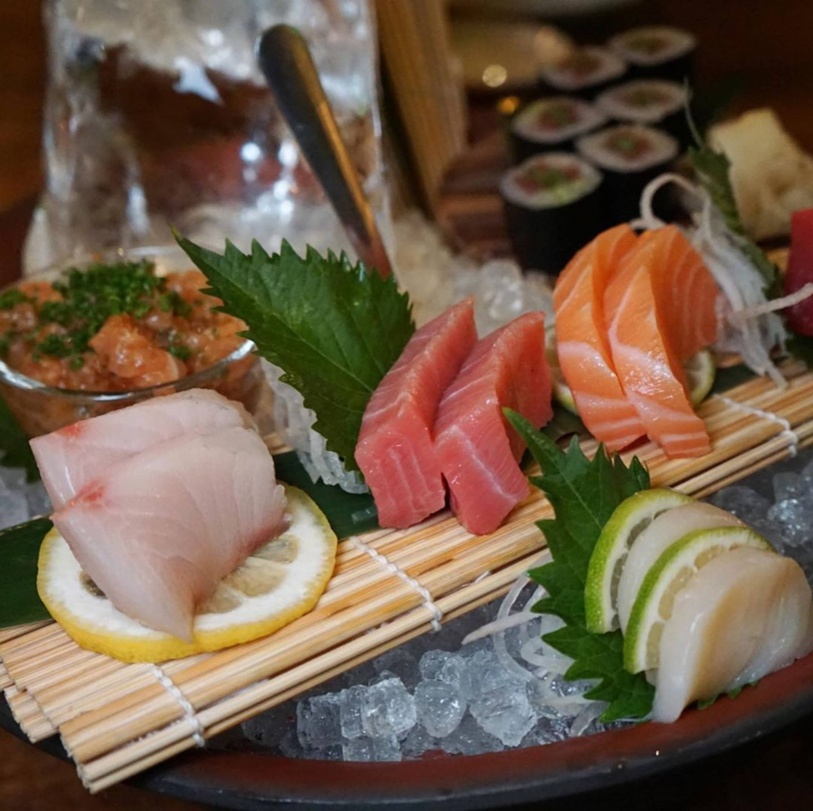 Sashimi platter at Inko Nito in Downtown LA