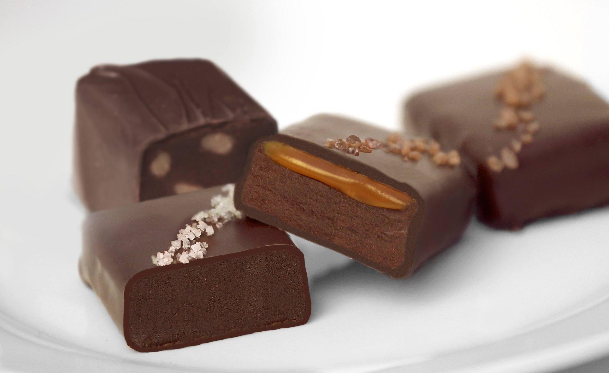 Truffle Fudge Bites at John Kelly Chocolates