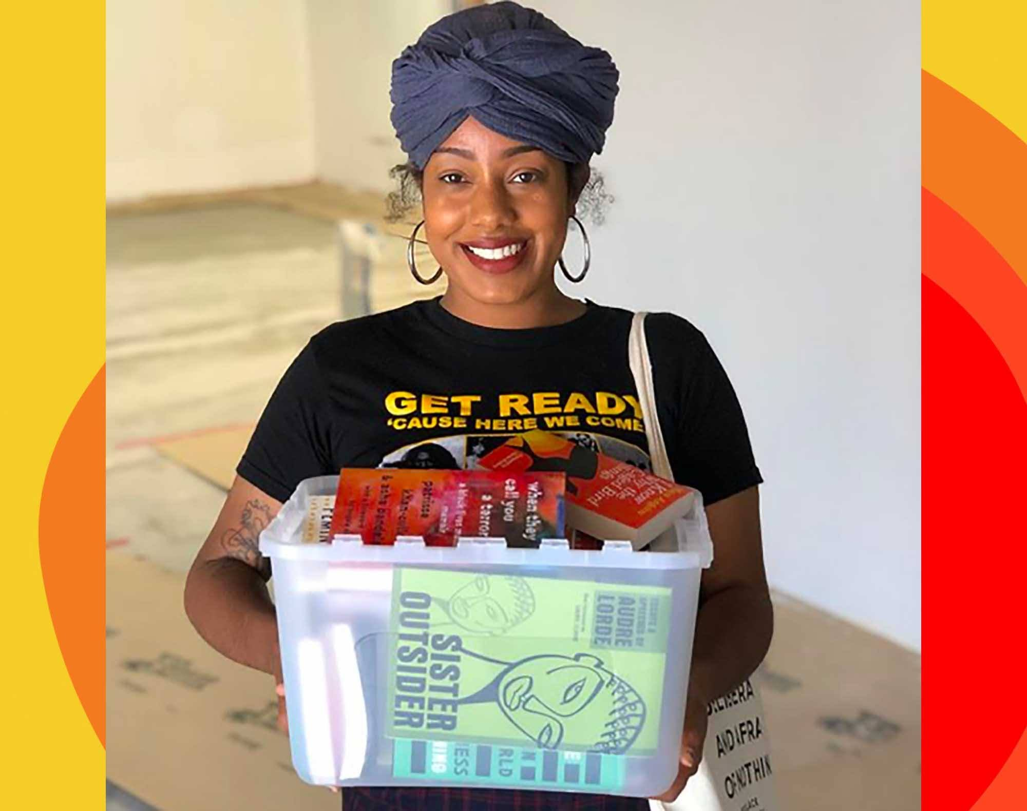Asha Grant, director of The Free Black Women's Library - Los Angeles