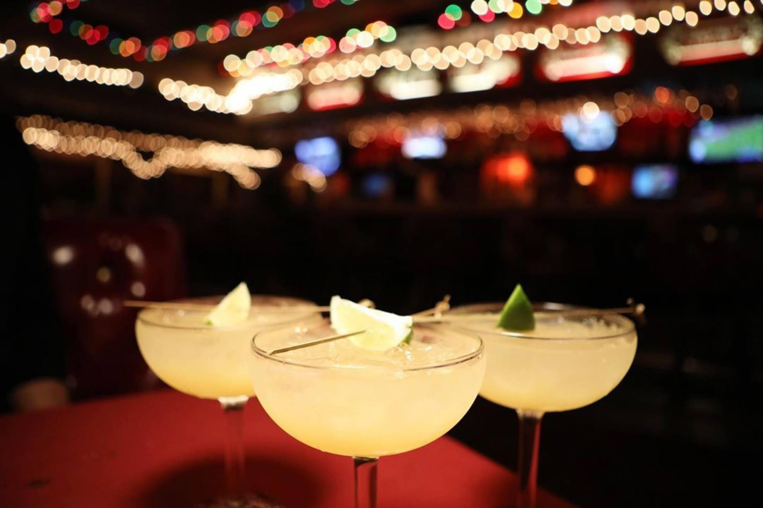 A trio of Tarantino Margaritas at Casa Vega in Sherman Oaks