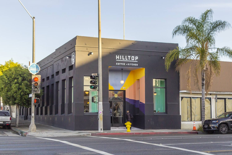 Exterior of Hilltop Coffee + Kitchen in Inglewood