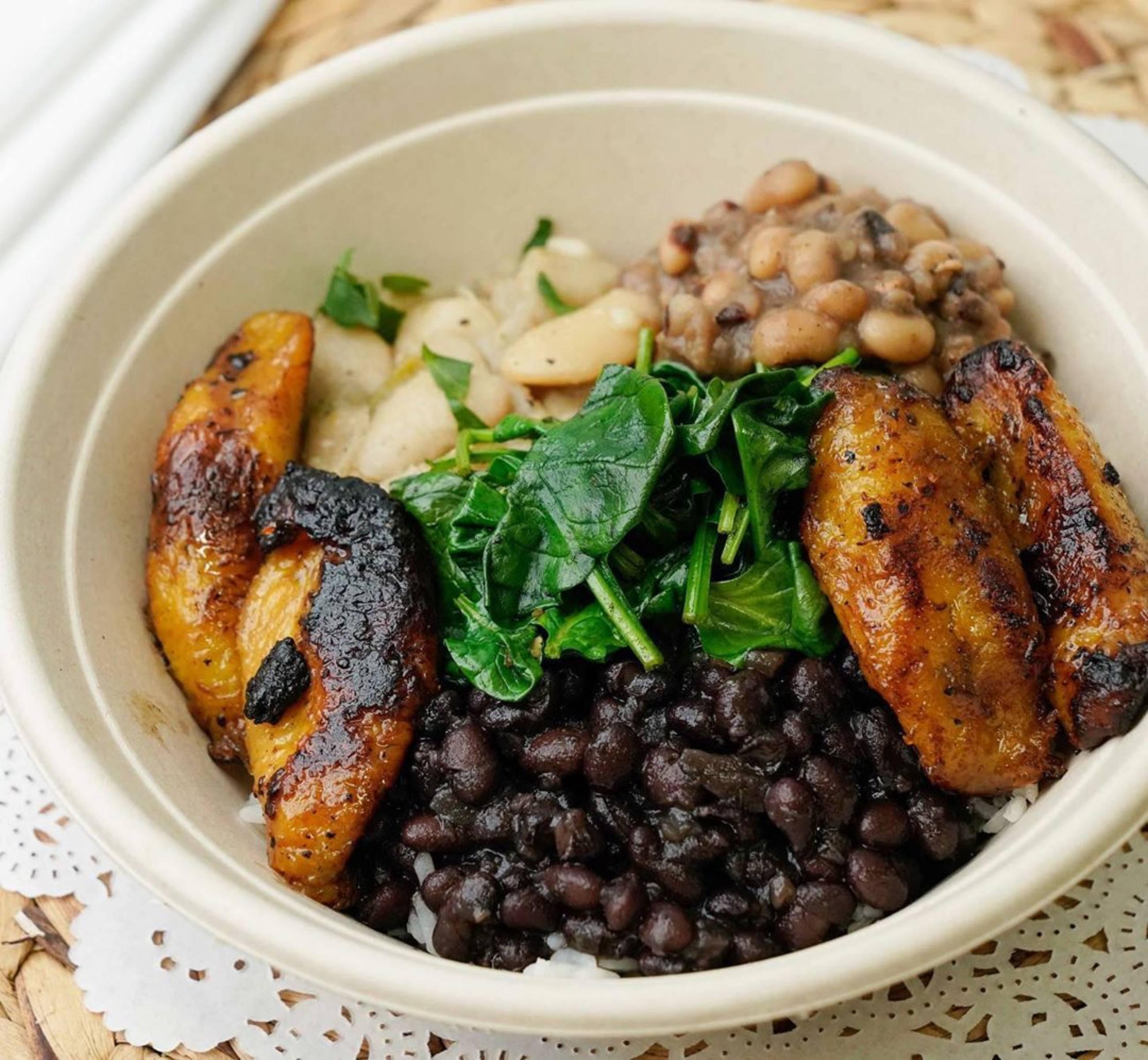 Bean Bowl at Jackfruit Cafe in West LA