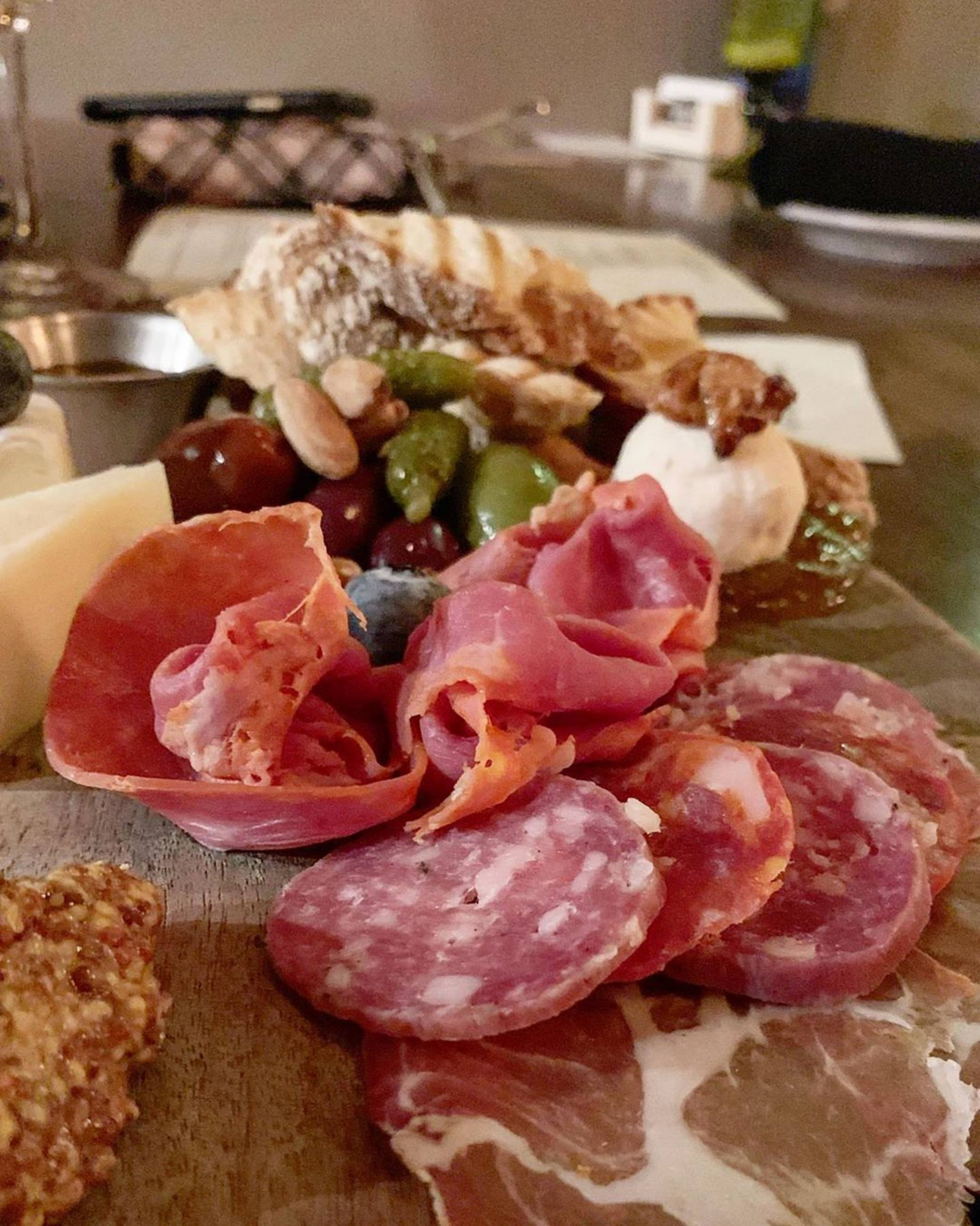 Cheese & Charcuterie at Marche Wine Bar