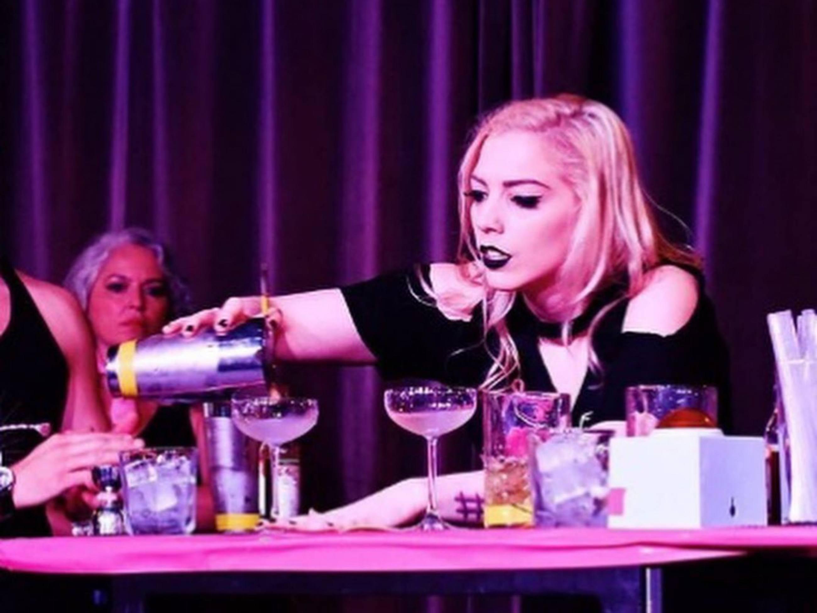 LA bartender Kat Corbo on her way to winning Speed Rack 2019