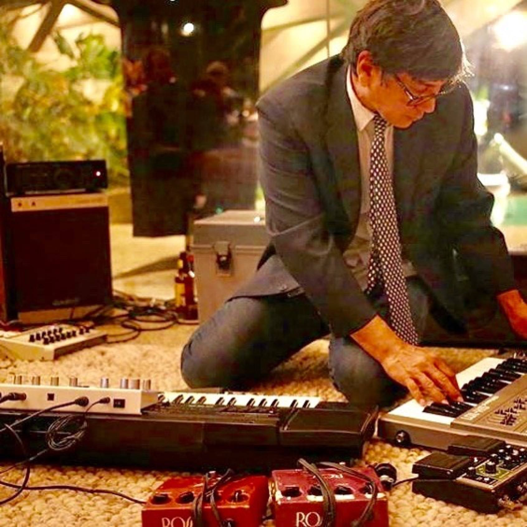 "Money Mark performs ""Isolation Jams"" at the Sheats-Goldstein Residence in 2014"