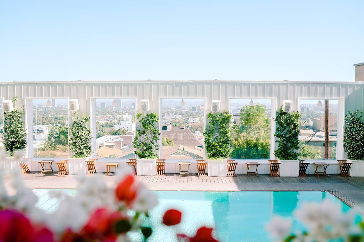 WeHo Rooftop Pool 2