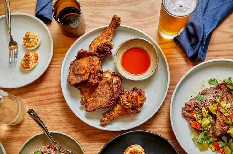 Fried Chicken at Alta Adams 2020