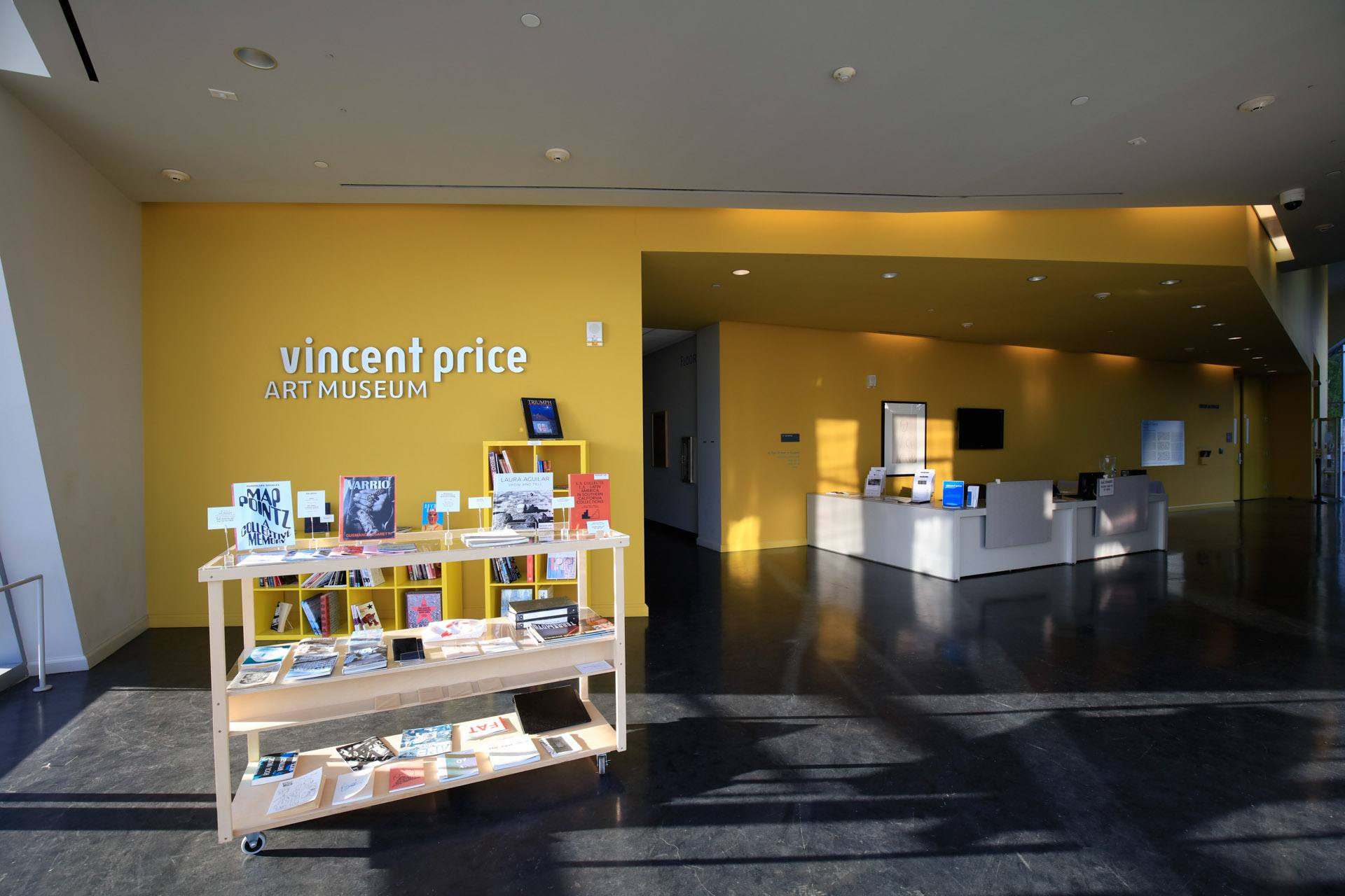 Vincent Price Art Museum Gift shop 2020