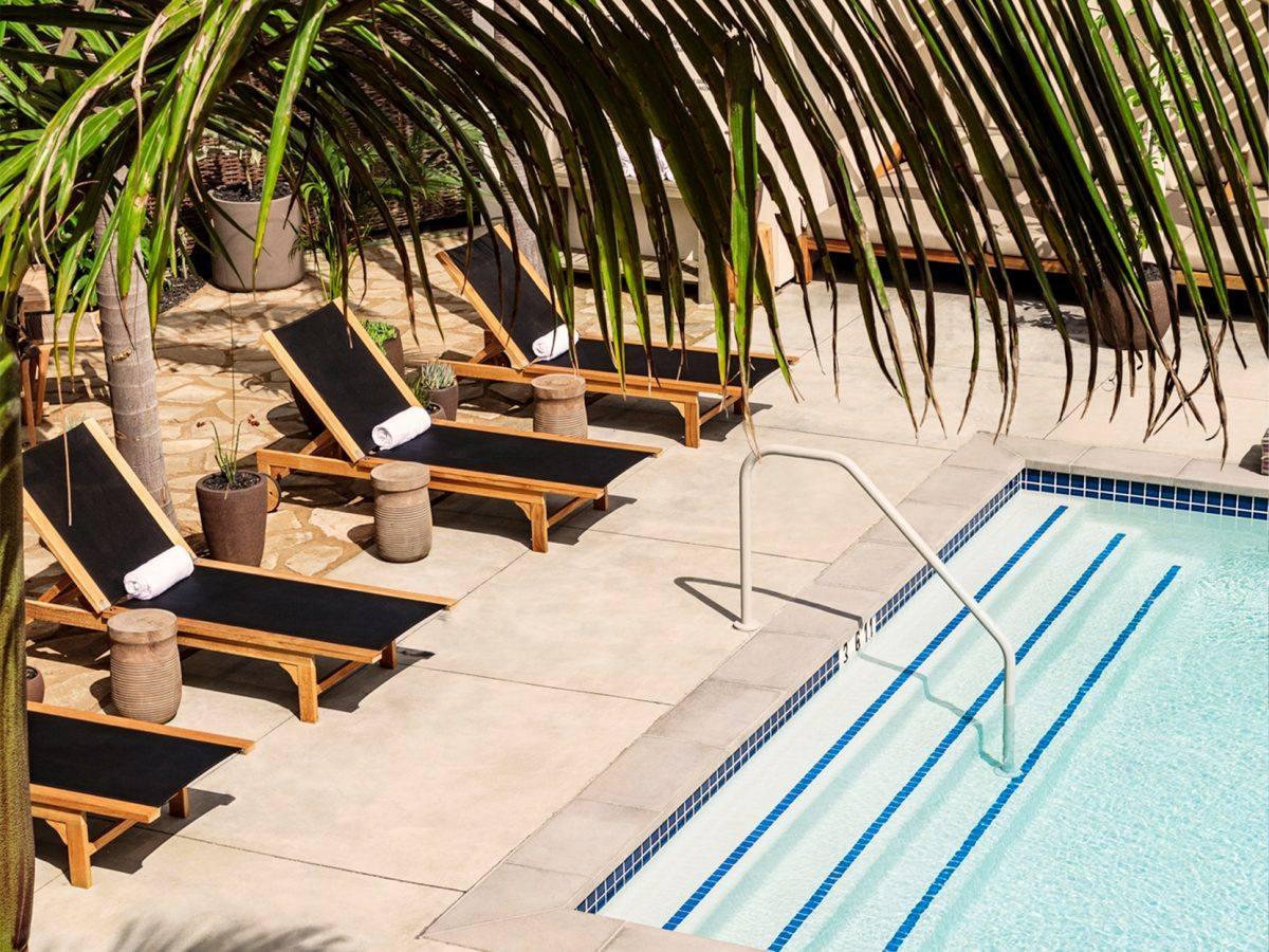 Pool at Hotel June