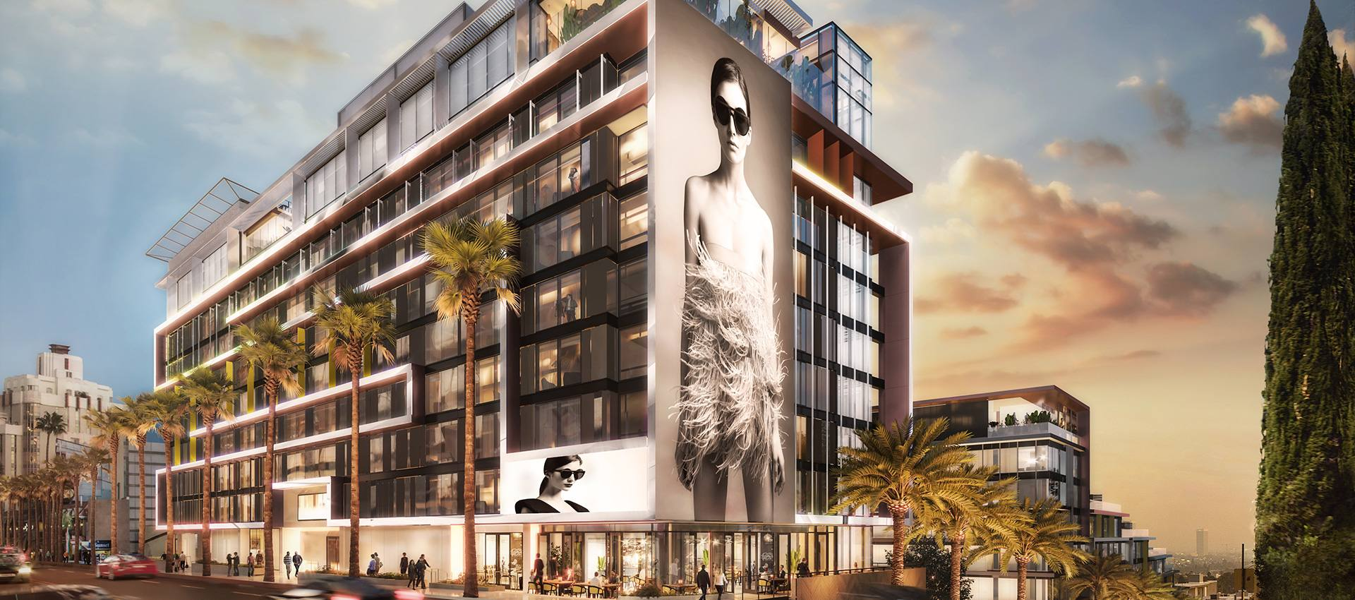 The Pendry West Hollywood will open at the old Sunset Strip site of the House of Blues.