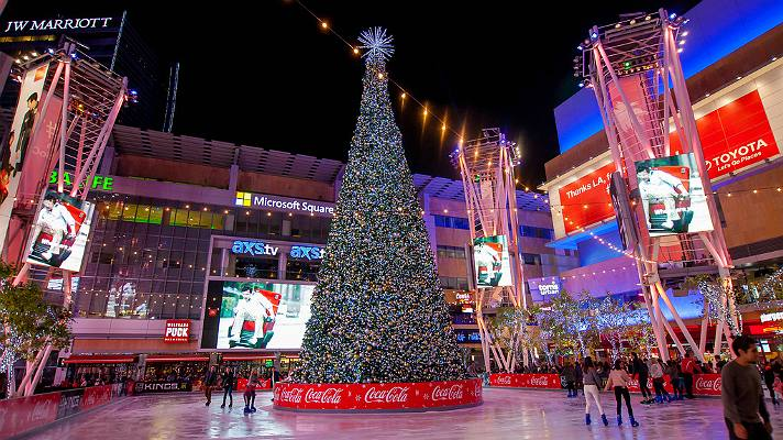 Christmas In Los Angeles.The Best Holiday Events And Activities In Los Angeles