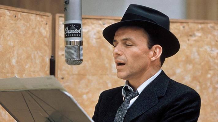 Frank Sinatra at Capitol Studios | Photo courtesy of Capitol Studios, Facebook