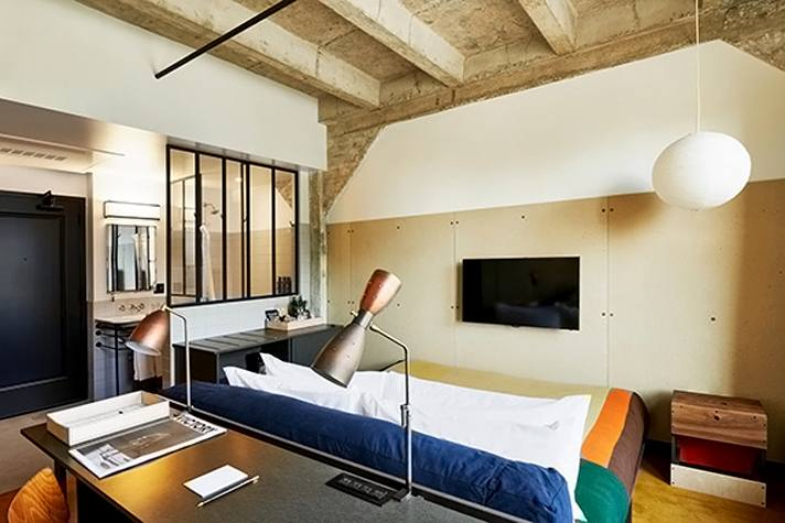 Medium Room at Ace Hotel Downtown Los Angeles | Photo courtesy of Ace Hotel