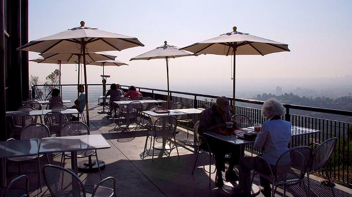 Cafe at the End of the Universe Griffith Observatory