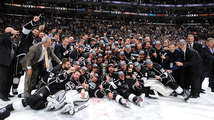 The LA Kings celebrate their first Stanley Cup | Photo courtesy of STAPLES Center/Bernstein Associates