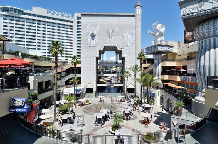 Hollywood & Highland | Photo courtesy of Loews Hollywood