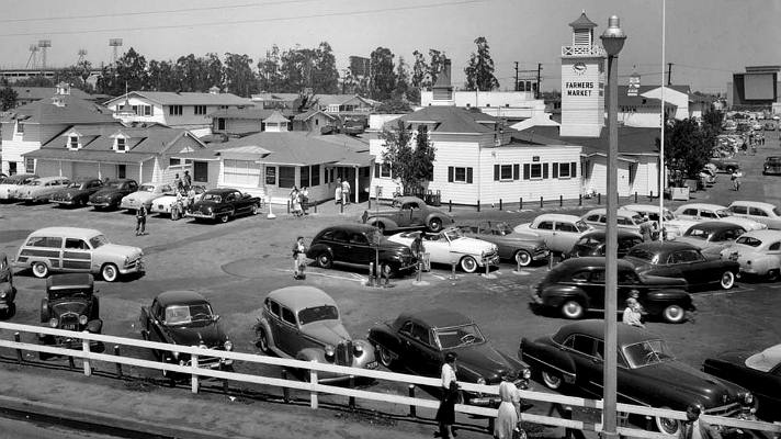 The Original Farmers Market in 1953 | Photo courtesy of The Original Farmers Market