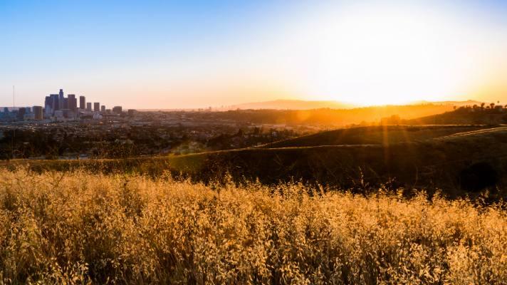 ascot hills park sunset
