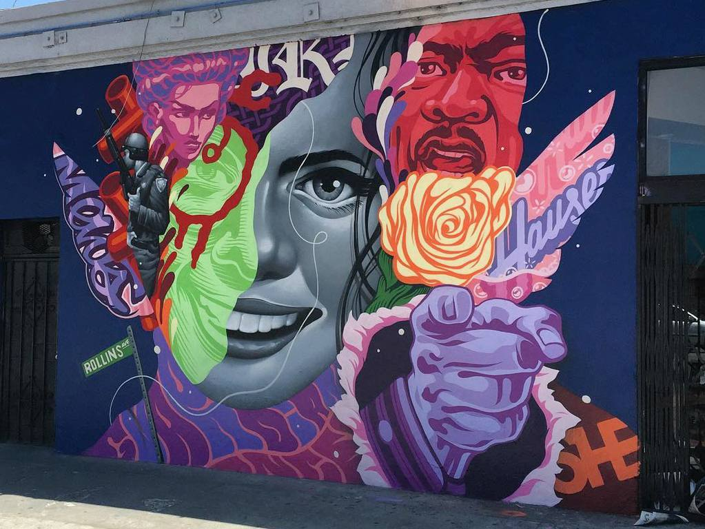 """Rollins Avenue"" by Tristan Eaton 
