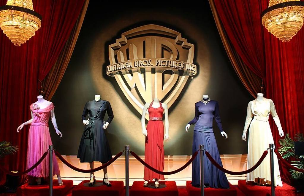 Gowns from the Classics Made Here Tour at Warner Bros. Studio Hollywood