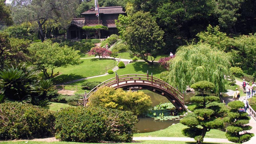large outside venues botanical garden los angeles