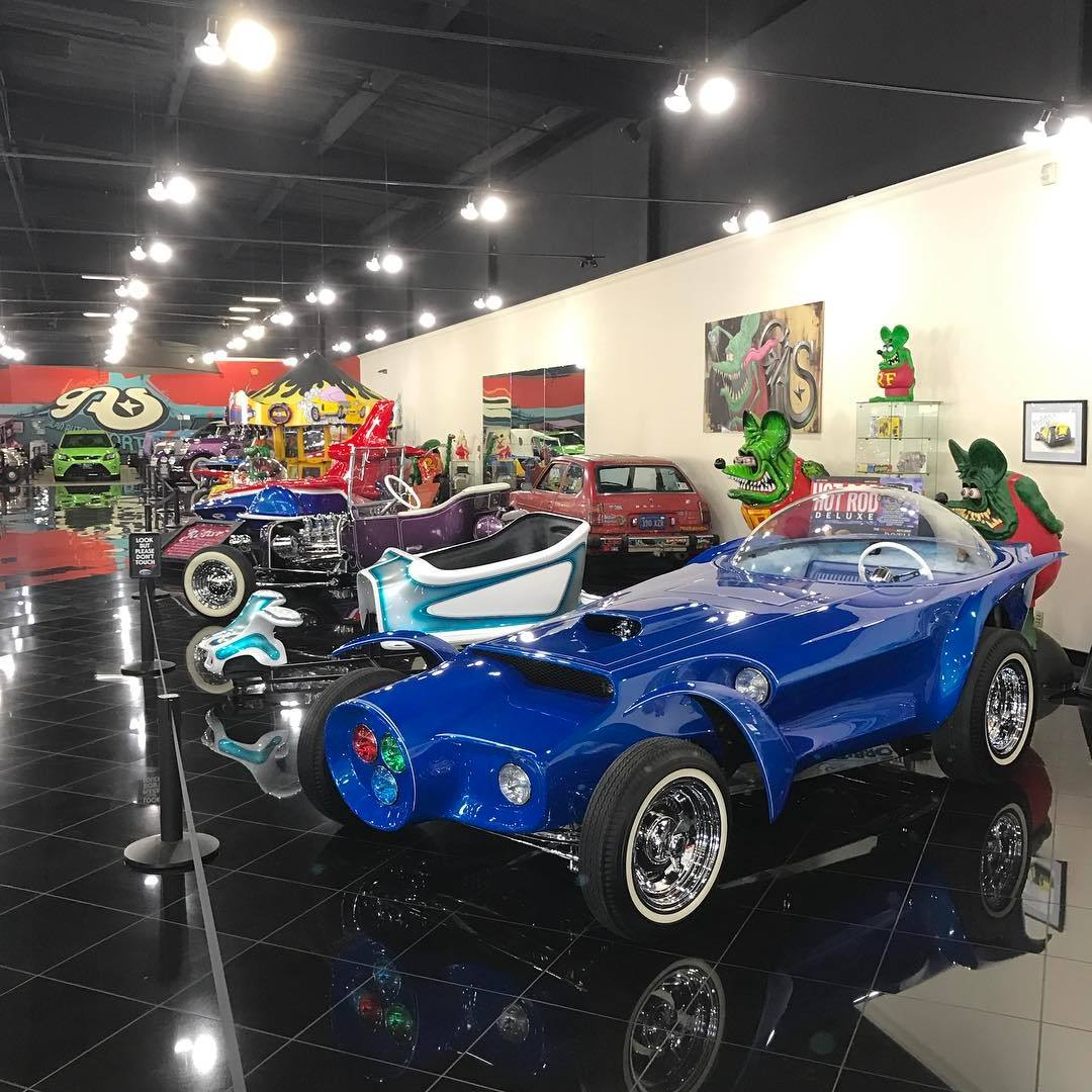 """Ed """"Big Daddy"""" Roth's Orbitron at Galpin Auto Sports 