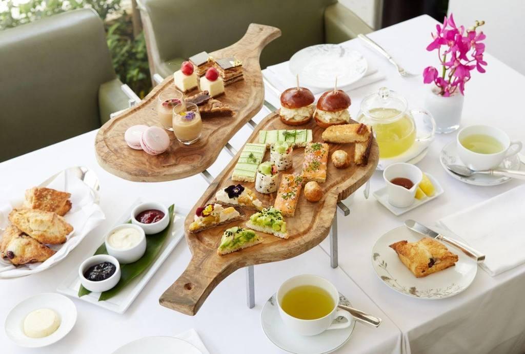 Afternoon tea at Wolfgang Puck at Hotel Bel-Air   Photo courtesy of Hotel Bel-Air, Facebook