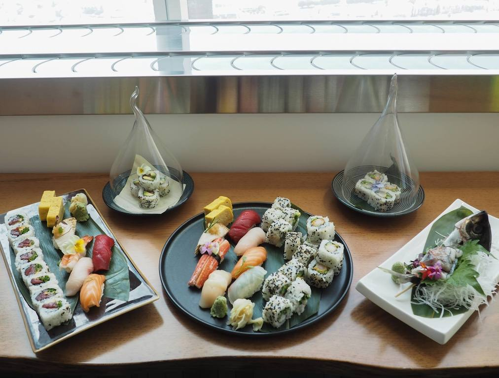 Sushi at Sora | Photo courtesy of InterContinental Los Angeles Downtown, Facebook