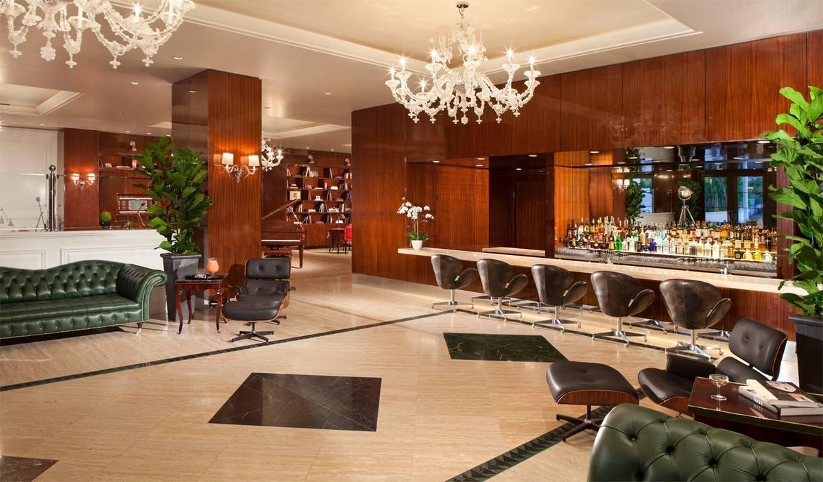 Mr. C Beverly Hills lobby