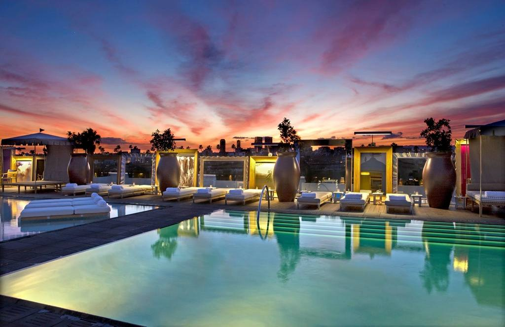 Altitude Pool & Lounge | Photo courtesy of SLS Beverly Hills