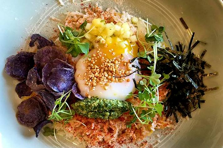 Kimchi fried rice at Baroo   Instagram by @phil.rosenthal
