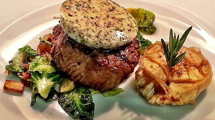 Petite Filet Mignon at BOA Steakhouse