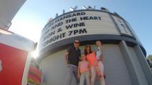 Family photo at the Hollywood Bowl