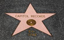 Capitol Records Hollywood Walk of Fame Star