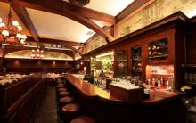 The bar at Musso & Frank Grill in Hollywood