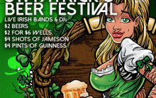 St. Patty's Beer Fest at the Legendary Pig 'n Whistle Hollywood