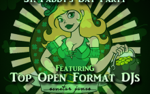 Everyone Gets Lucky St. Patrick's Day Party March 17th 2019 at Senator Jones