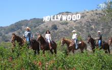 Sunset Ranch Hollywood riders Hollywood Sign