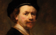 "Rembrandt ""Self-Portrait"" at the Norton Simon Museum"
