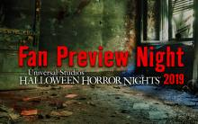 HHN Fan Preview Night