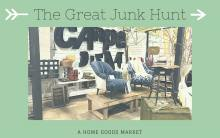 The Great Junk Hunt Vintage and Home Goods market taking place at the Ventura County Fairgrounds
