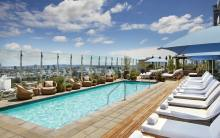 Rooftop Pool at 1 Hotel WeHo
