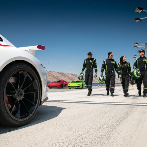 Photo Courtesy of Exotics Racing School Los Angeles.