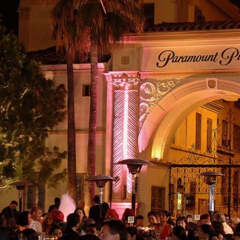 Special event at The Studios at Paramount. Photo courtesy of The Studios at Paramount.